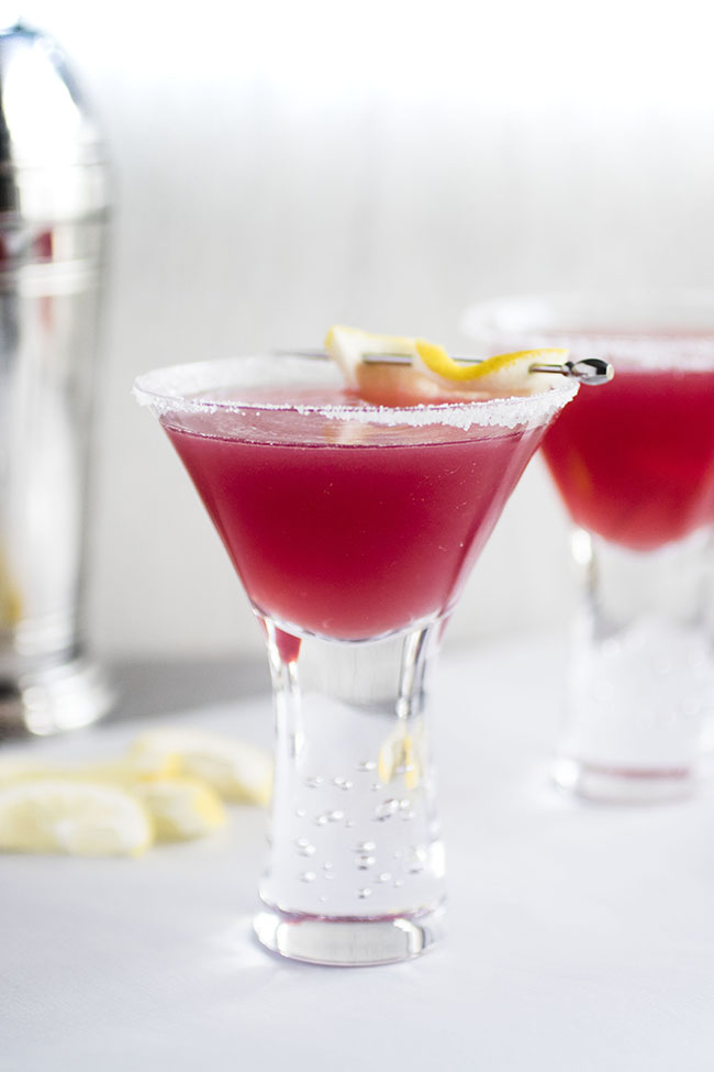 Cranberry Raspberry Lemon Drop Recipe