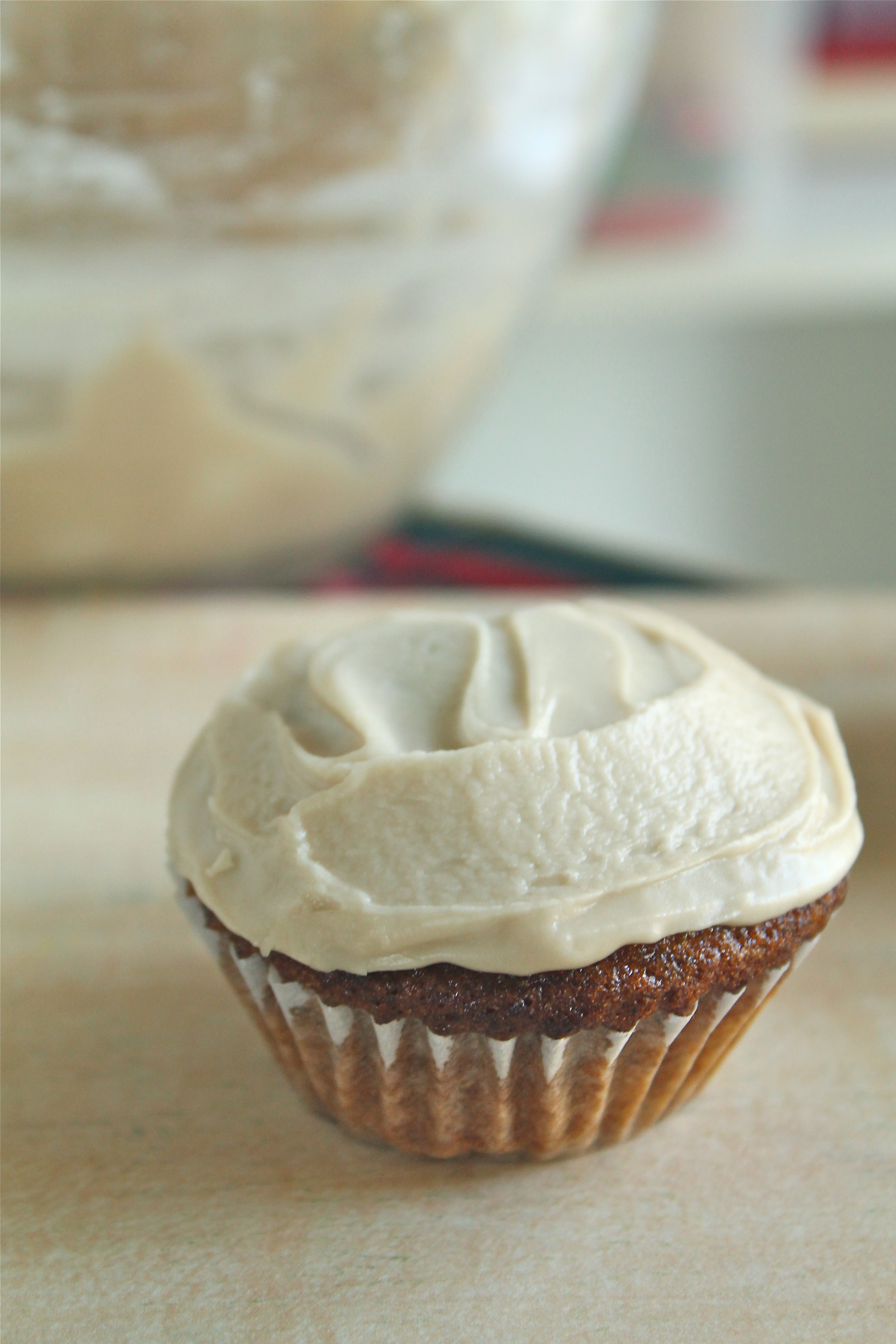 Pumpkin Ale Cupcakes – Life As A Strawberry