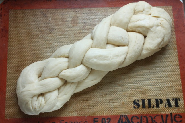 Simple Challah Bread   This eggy, hearty challah bread is easy to make and sure to be a hit! Tastes amazing straight out of the oven or as french toast the next day!
