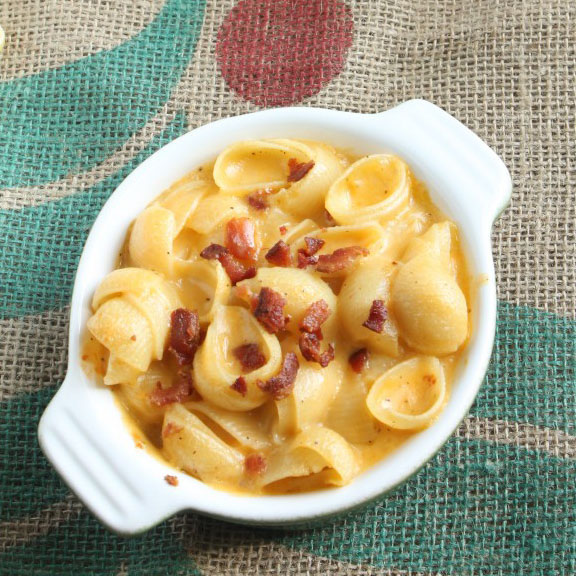 Hard Apple Cider Mac and Cheese
