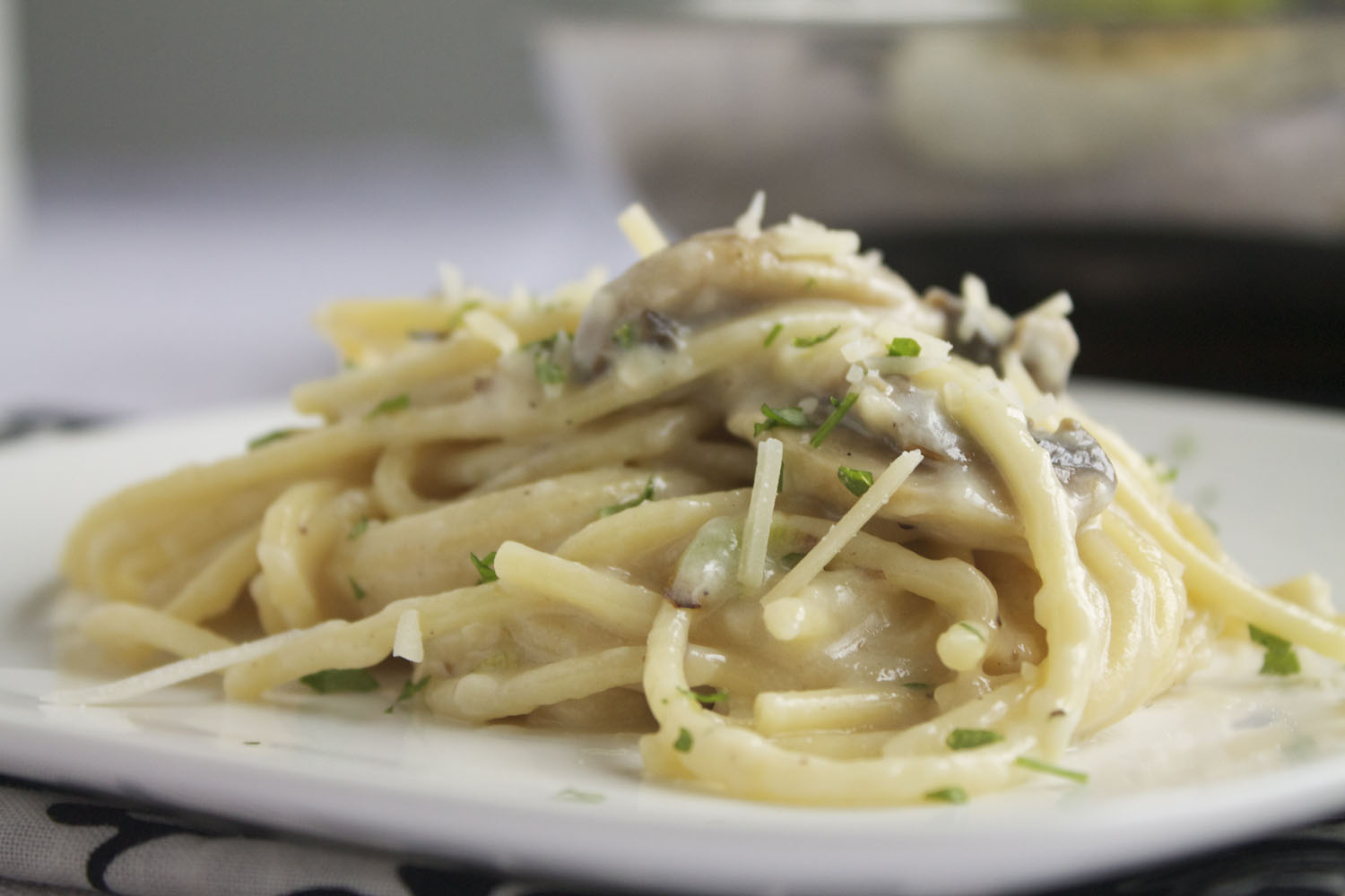 Creamy pasta sauce recipe with cream