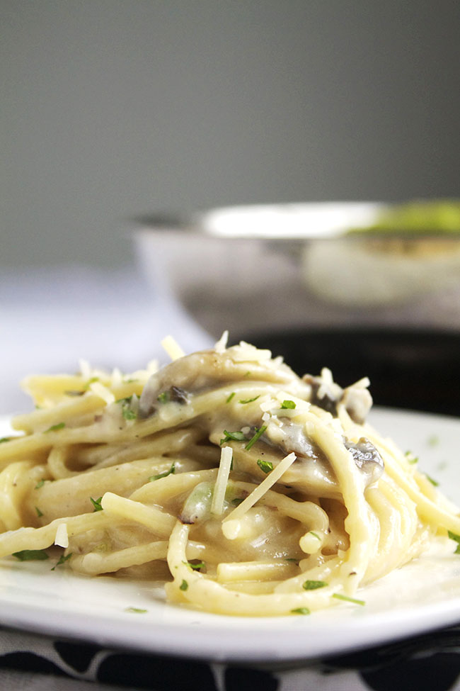Creamy Mushroom Garlic Sauce