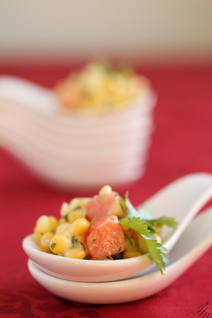 Dijon Corn Salsa