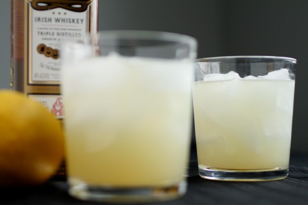 Sweet Whiskey Lemonade