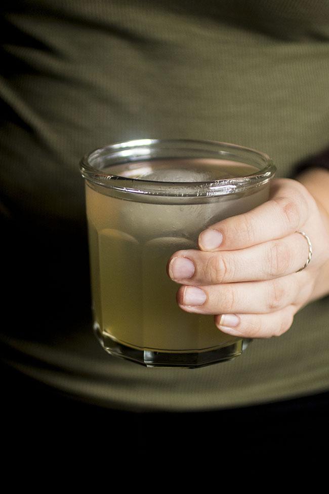 Sweet Whiskey Lemonade Cocktail