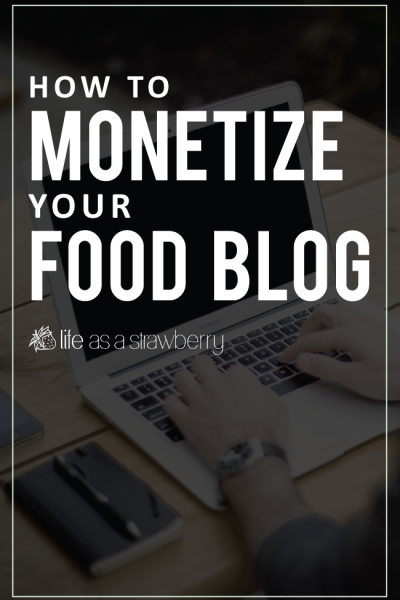Monetizing Your Blog
