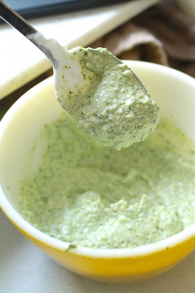 Cilantro Pesto and Cilantro Yogurt Sauce