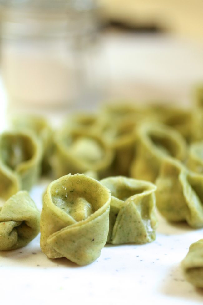 Three Cheese Spinach Tortellini