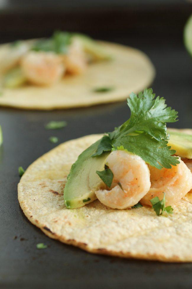 Tequila Lime Shrimp Tacos