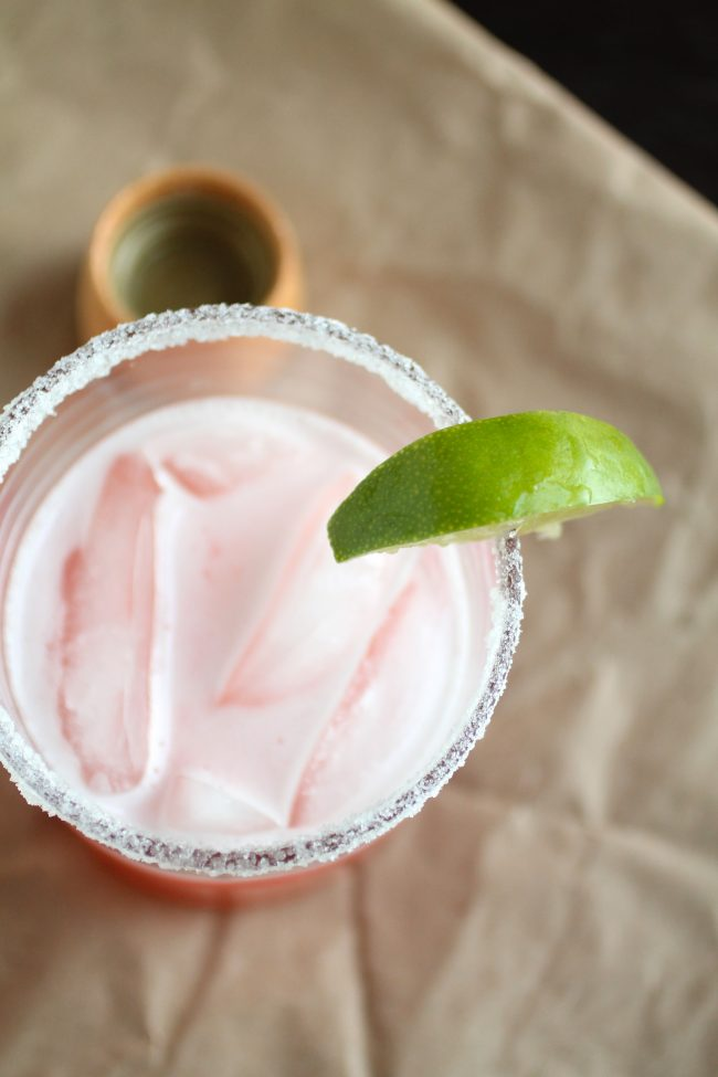 how to make homemade strawberry margarita mix