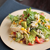 Cilantro Chicken Chopped Salad