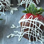 Tuxedo and Chocolate Covered Strawberries