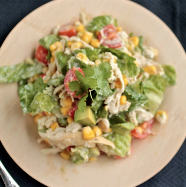 Cilantro Chicken Chopped Salad