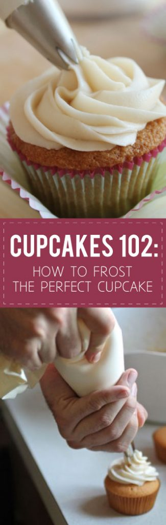 Cupcakes 102: How to Frost the Perfect Cupcake