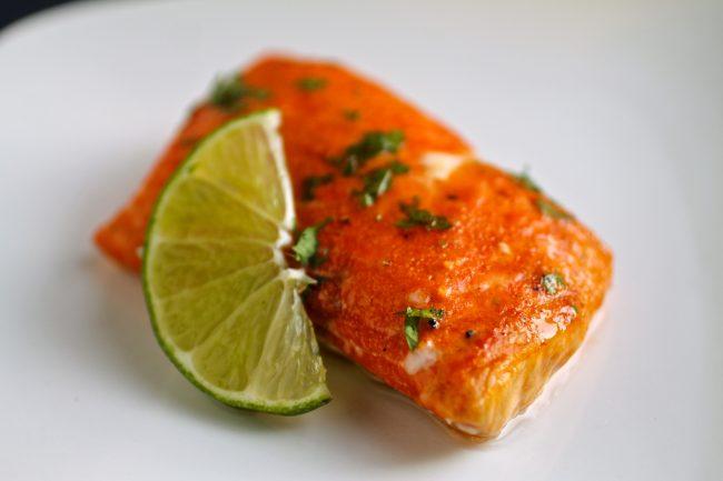 Tequila & Sriracha Glazed Salmon