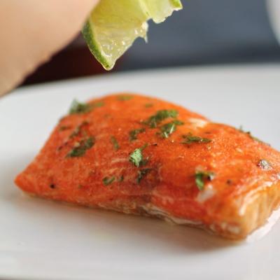 Tequila and Sriracha Glazed Salmon
