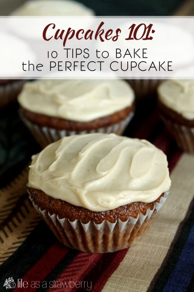 Cupcakes 101: 10 tips to bake the perfect cupcake - Literally EVERYTHING you need to know to make delicious homemade cupcakes! Baking tips, cupcake storage tips, and more!