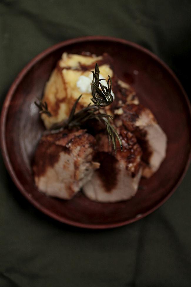 Orange & Rosemary Roasted Pork Tenderloin