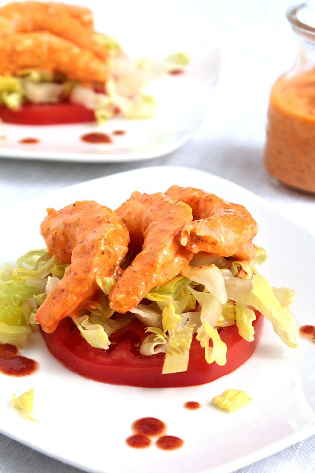 Easy homemade shrimp remoulade with a simple remoulade sauce