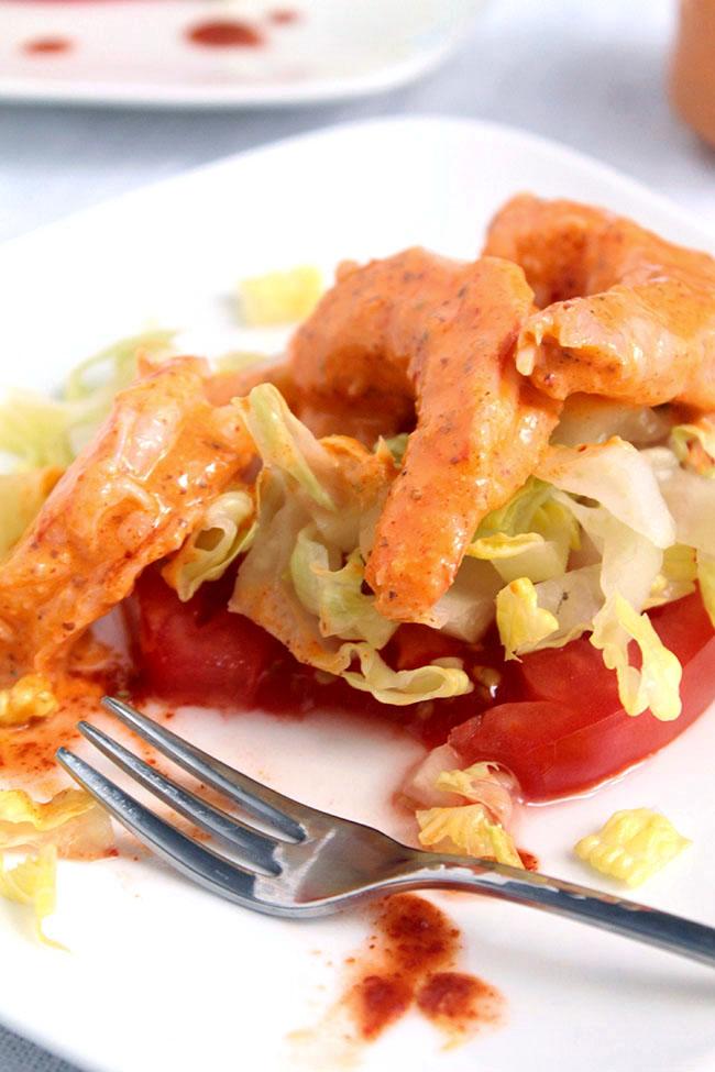 Homemade shrimp remoulade with an easy remoulade sauce