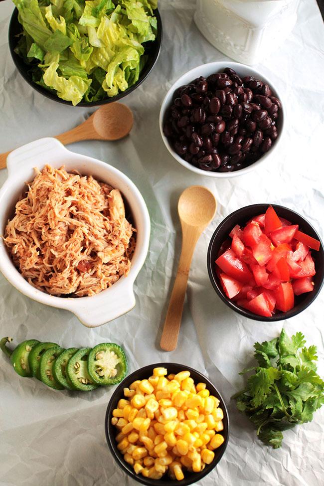 Chicken Burrito Recipe in a bowl