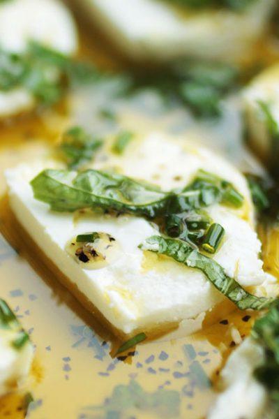 Herb Marinated Goat Cheese