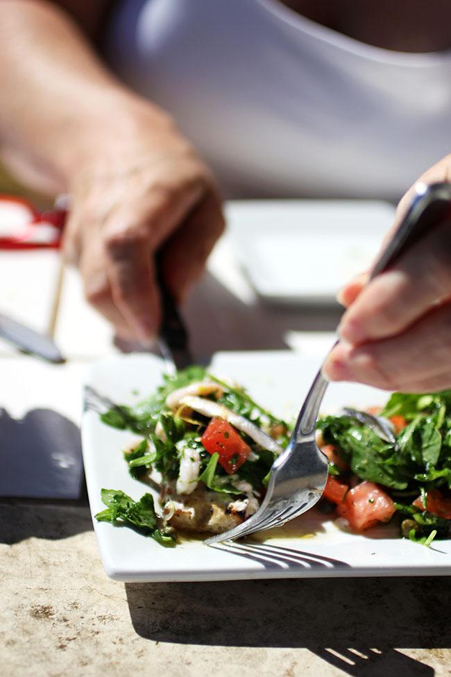 Shrimp Salad Crostini