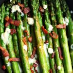 Bacon Blue Cheese Asparagus