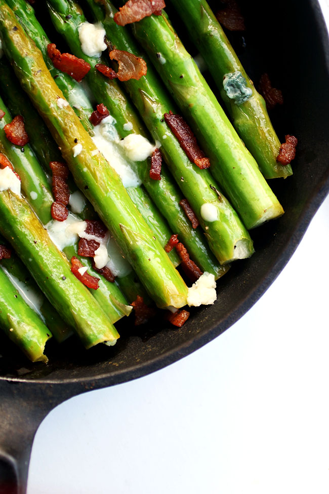 Bacon asparagus recipe for an easy side dish