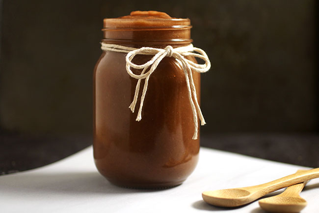 Homemade Apple Butter Recipe - Easy apple butter with no processed sugar