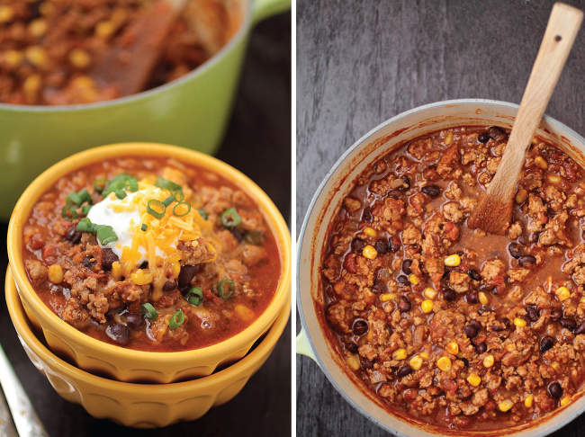 Turkey Corn and Black Bean Chili