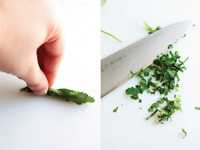 Herbs 101 | Everything you need to know about storing and using fresh herbs, all wrapped into one post! How to store herbs, when to add herbs during cooking, types of herbs, and more!