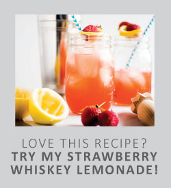 Strawberry Whiskey Lemonade
