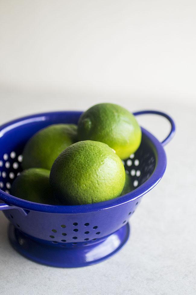 Limes for homemade margaritas