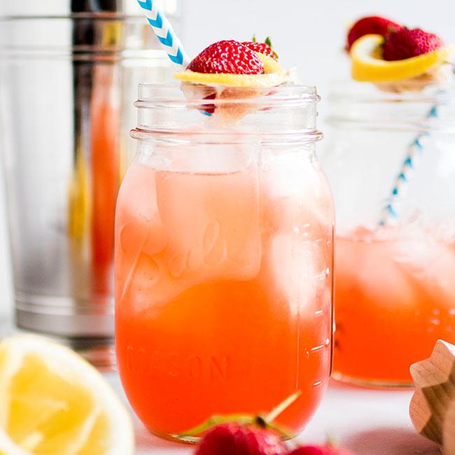 Strawberry Whiskey Lemonade Life As A Strawberry