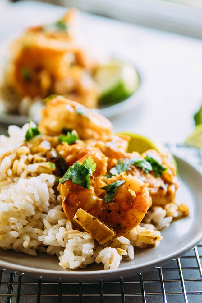 coconut curry shrimp recipe