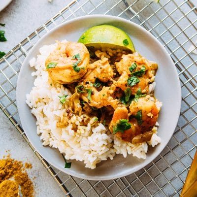 Easy 20-Minute Coconut Curry Shrimp