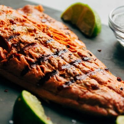 The Easiest Spicy Lime Grilled Salmon