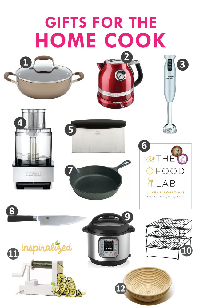 gift guide for home cooks 2017