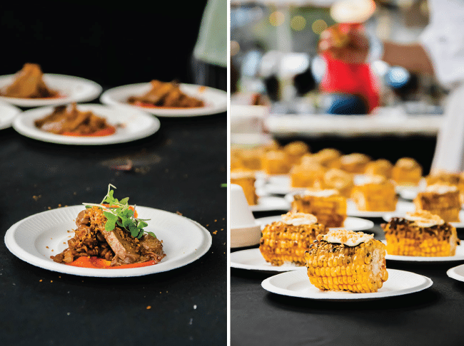 photo collage of pictures from Feast Portland 2018