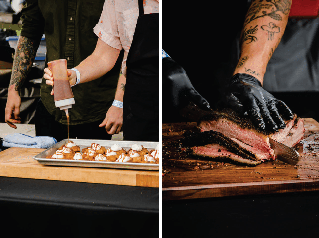 Graphic Collage from Feast Portland Smoked 2018